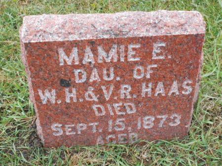 HAAS, MAMIE E. - Linn County, Iowa | MAMIE E. HAAS