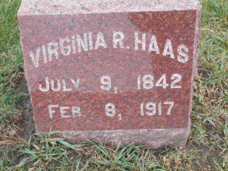HAAS, VIRGINIA R. - Linn County, Iowa | VIRGINIA R. HAAS