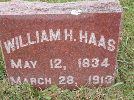 HAAS, WILLIAM H. - Linn County, Iowa   WILLIAM H. HAAS