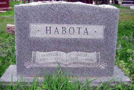 HABOTA, JOSEF - Linn County, Iowa | JOSEF HABOTA