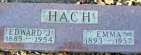 HACH, EDWARD J. - Linn County, Iowa | EDWARD J. HACH