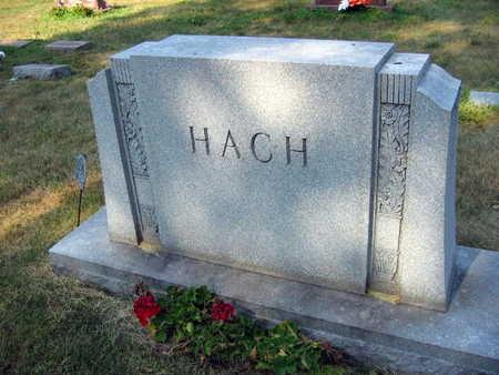 HACH, FAMILY STONE - Linn County, Iowa | FAMILY STONE HACH