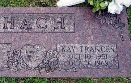 HACH, KAY FRANCES - Linn County, Iowa | KAY FRANCES HACH