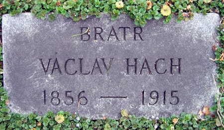 HACH, VACLAV - Linn County, Iowa   VACLAV HACH