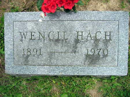 HACH, WENCIL - Linn County, Iowa | WENCIL HACH