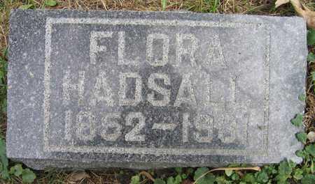 HADSALL, FLORA - Linn County, Iowa | FLORA HADSALL