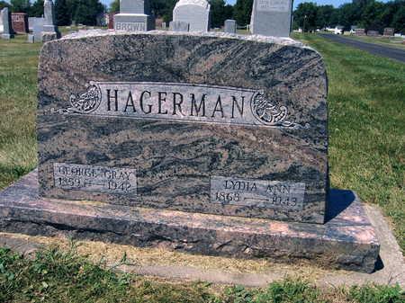 HAGERMAN, GEORGE GRAY - Linn County, Iowa   GEORGE GRAY HAGERMAN