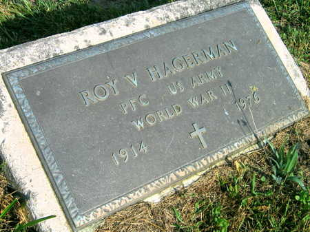 HAGERMAN, ROY V. - Linn County, Iowa | ROY V. HAGERMAN
