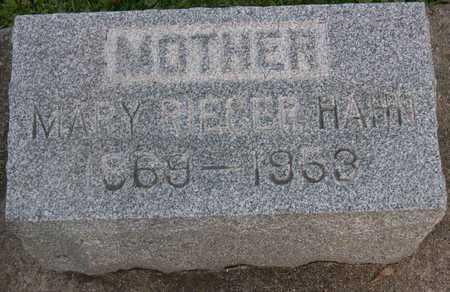 HAHN, MARY - Linn County, Iowa | MARY HAHN