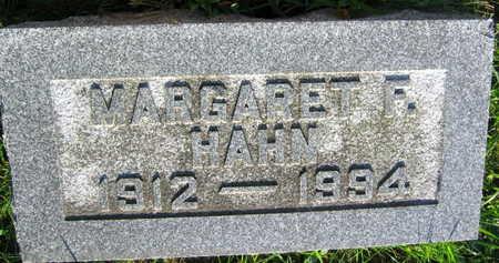 HAHN, MARGARET  F. - Linn County, Iowa | MARGARET  F. HAHN