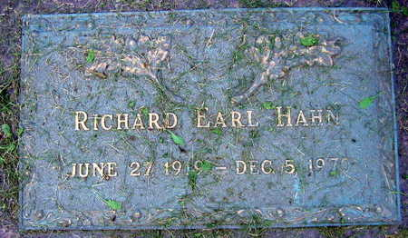 HAHN, RICHARE EARL - Linn County, Iowa | RICHARE EARL HAHN
