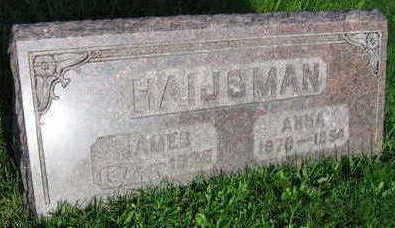 HAIJSMAN, ANNA - Linn County, Iowa | ANNA HAIJSMAN