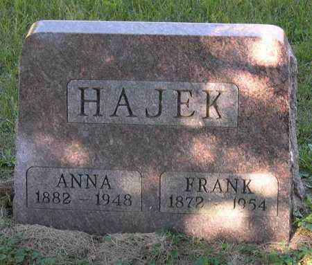 HAJEK, FRANK - Linn County, Iowa | FRANK HAJEK