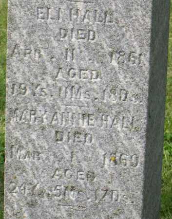 HALL, MARY ANNIE - Linn County, Iowa | MARY ANNIE HALL