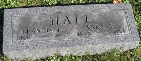 HALL, FRANCIS - Linn County, Iowa | FRANCIS HALL