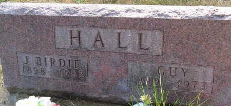 HALL, J. BIRDIE - Linn County, Iowa | J. BIRDIE HALL