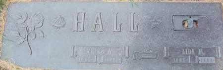 HALL, LIDA M - Linn County, Iowa   LIDA M HALL