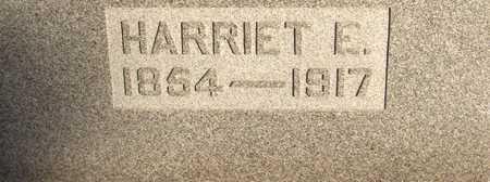 HALL, HARRIET E. - Linn County, Iowa | HARRIET E. HALL