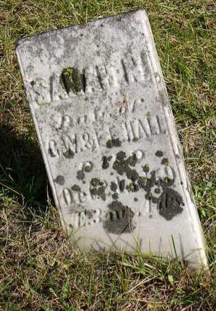 HALL, SARAH N. - Linn County, Iowa | SARAH N. HALL