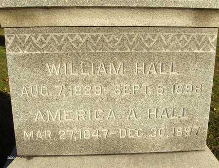 HALL, AMERICA A. - Linn County, Iowa | AMERICA A. HALL