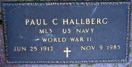 HALLBERG, PAUL C. - Linn County, Iowa | PAUL C. HALLBERG