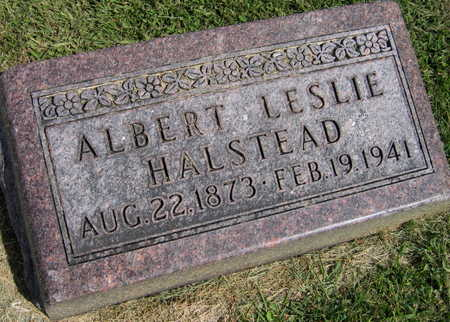HALSTEAD, ALBERT LESLIE - Linn County, Iowa | ALBERT LESLIE HALSTEAD