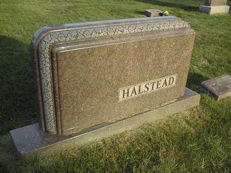HALSTEAD, FAMILY STONE - Linn County, Iowa   FAMILY STONE HALSTEAD