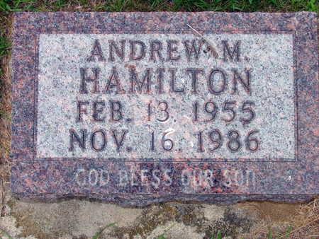 HAMILTON, ANDREW M. - Linn County, Iowa   ANDREW M. HAMILTON