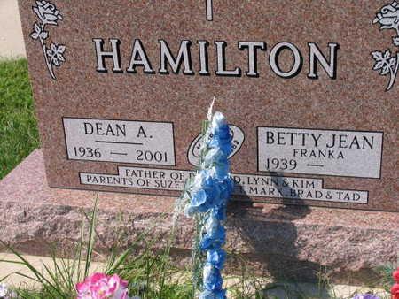 HAMILTON, DEAN A. - Linn County, Iowa | DEAN A. HAMILTON