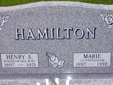 HAMILTON, HARRY S. - Linn County, Iowa | HARRY S. HAMILTON