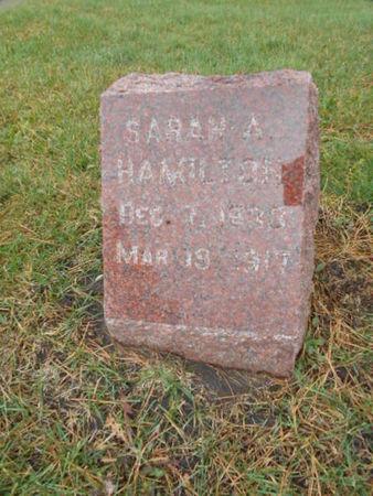 HAMILTON, SARAH A - Linn County, Iowa   SARAH A HAMILTON