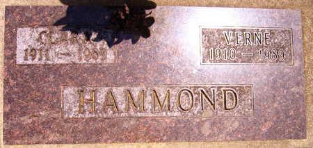 HAMMOND, CLARA - Linn County, Iowa | CLARA HAMMOND