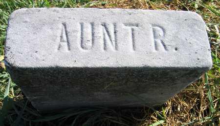 HAMPTON, AUNT R. - Linn County, Iowa   AUNT R. HAMPTON