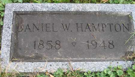 HAMPTON, DANIEL W. - Linn County, Iowa   DANIEL W. HAMPTON