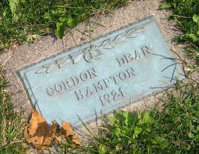 HAMPTON, GORDON DEAN - Linn County, Iowa | GORDON DEAN HAMPTON