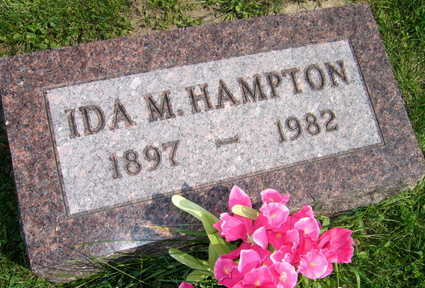HAMPTON, IDA M. - Linn County, Iowa | IDA M. HAMPTON