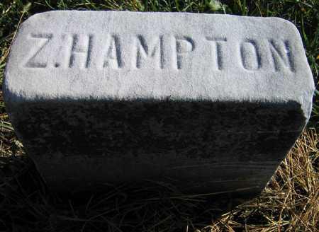 HAMPTON, Z. - Linn County, Iowa   Z. HAMPTON
