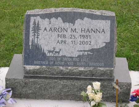 HANNA, AARON M. - Linn County, Iowa   AARON M. HANNA