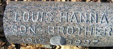HANNA, LOUIS - Linn County, Iowa | LOUIS HANNA