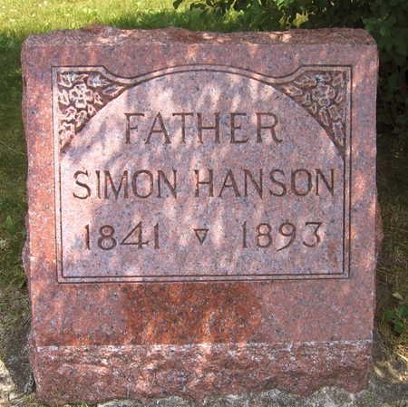 HANSON, SIMON - Linn County, Iowa   SIMON HANSON