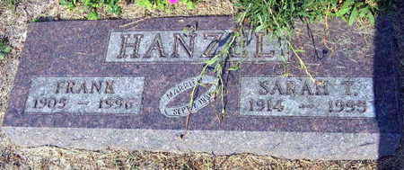 HANZEL, SARAH T. - Linn County, Iowa   SARAH T. HANZEL