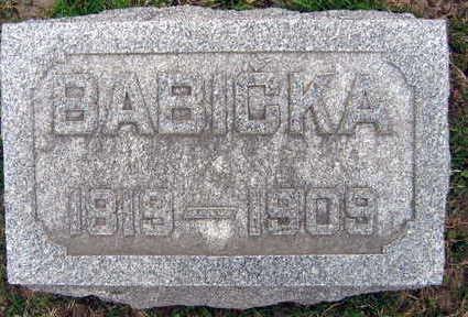HANZLIK, BABICKA - Linn County, Iowa | BABICKA HANZLIK