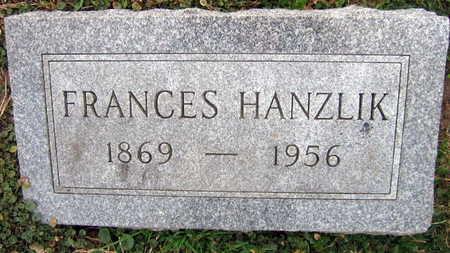 HANZLIK, FRANCES - Linn County, Iowa | FRANCES HANZLIK