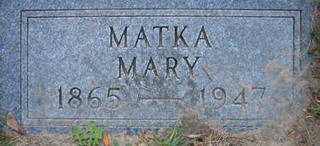 HANZLIK, MARY - Linn County, Iowa | MARY HANZLIK