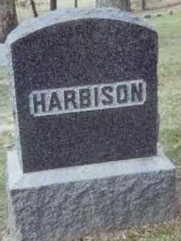 HARBISON, FAMILY STONE - Linn County, Iowa | FAMILY STONE HARBISON
