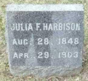HARBISON, JULIA F. - Linn County, Iowa | JULIA F. HARBISON