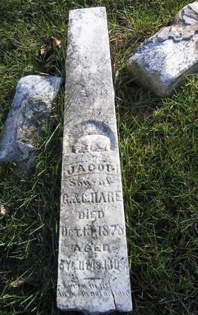 HARE, JACOB - Linn County, Iowa | JACOB HARE