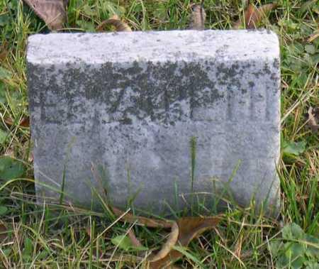 HARKNESS, ELIZABETH - Linn County, Iowa | ELIZABETH HARKNESS