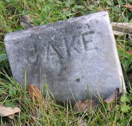 HARKNESS, JAKE - Linn County, Iowa   JAKE HARKNESS