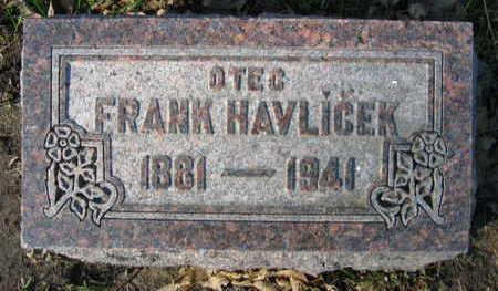 HAVLICEK, FRANK - Linn County, Iowa | FRANK HAVLICEK